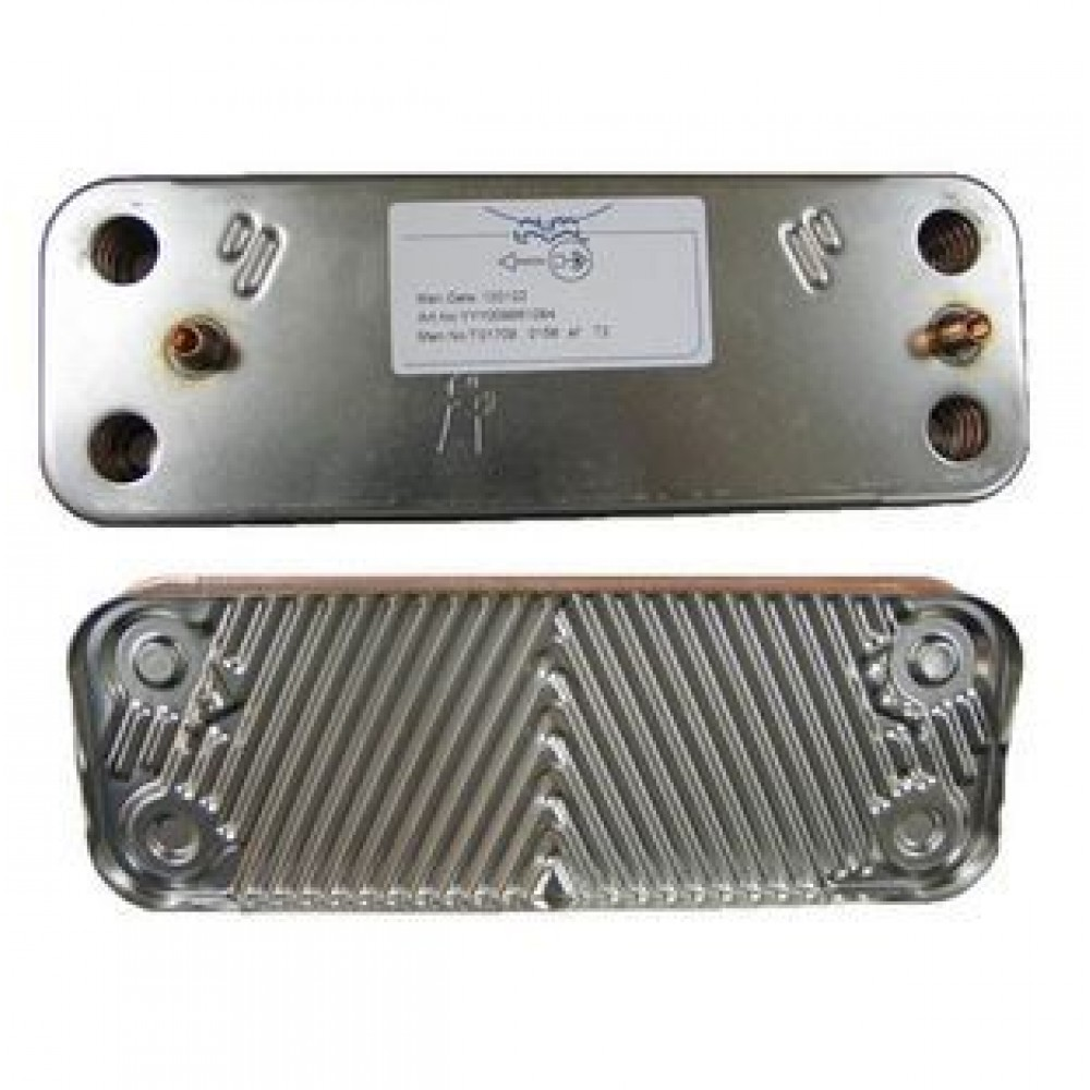 Пластинчатый теплообменник 10 пластин (7856846)